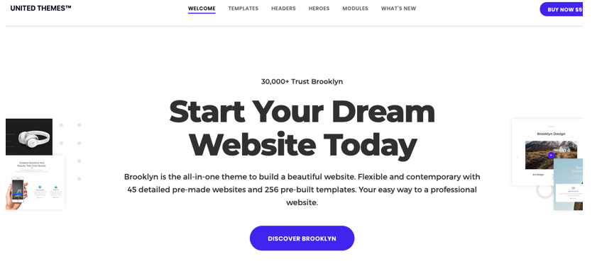 Brooklyne WordPress Theme