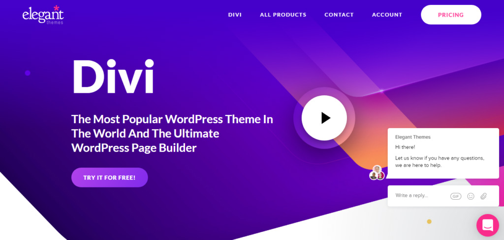 Divi from Elegant Themes