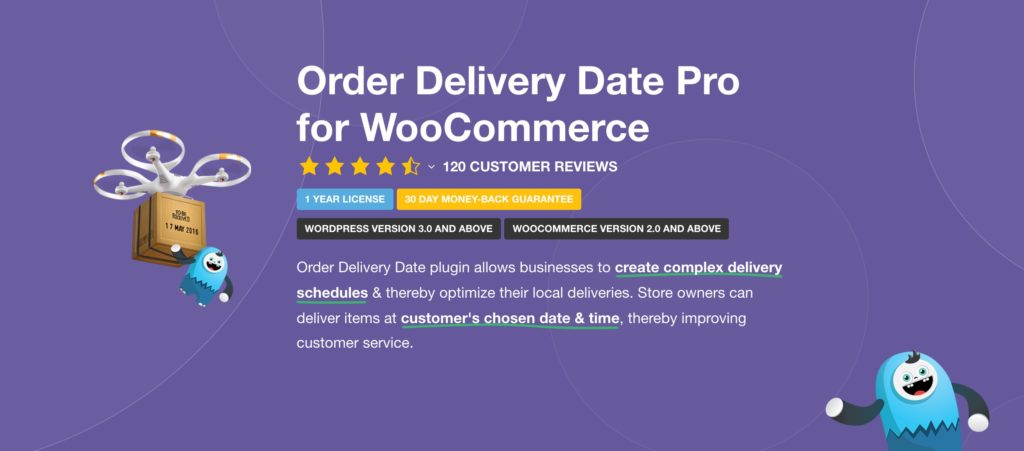 Order Delivery Date Pro for WooCommerce