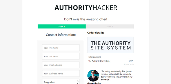 authority hacker site system for best blog sites