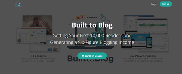 built to blog course