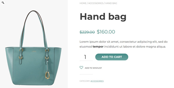 customize the add to wishlist product button