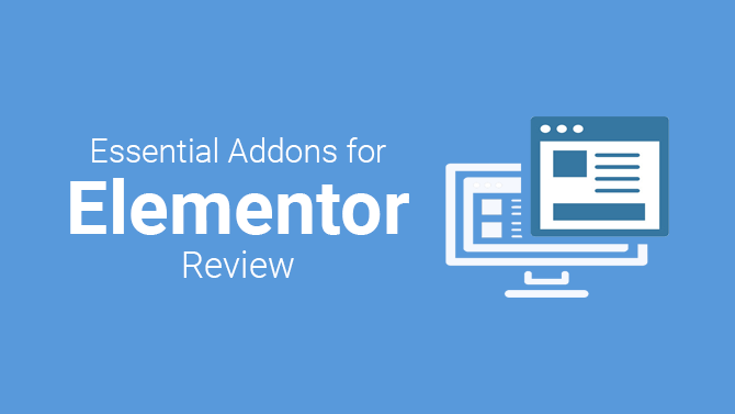 review essentials addons for elementor