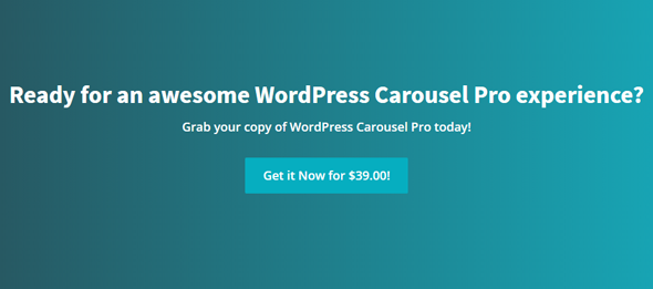 get started with wordpress carousel pro best slider plugin