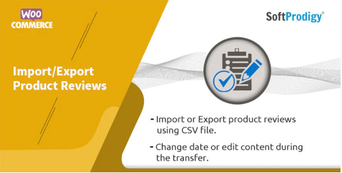 woocommerce import,export product reviews