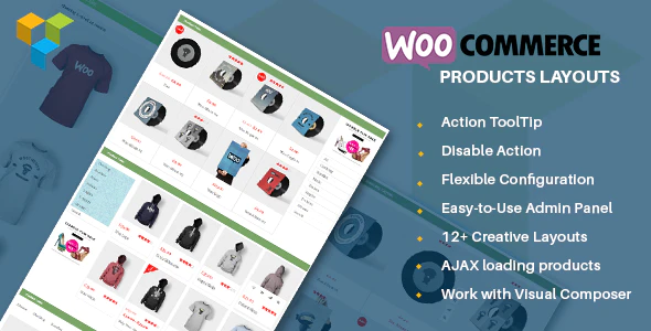 WooCommerce products layouts plugin