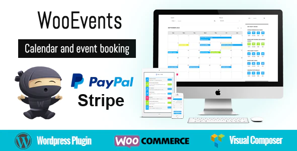 WooEvents Calendar & Event Bookings plugin for woocommerce
