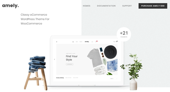 amely wordpress theme for woocommerce