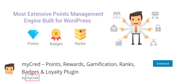 myCred points and referrals woocommerce plugin