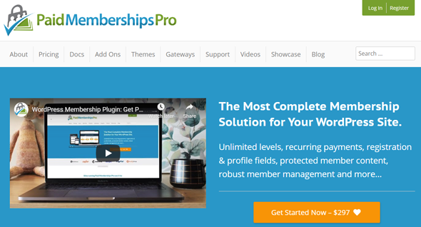 overview of paid membership pro