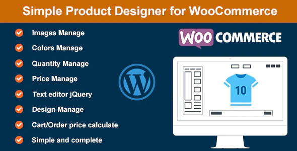 Simple prodcut design for woocommerce