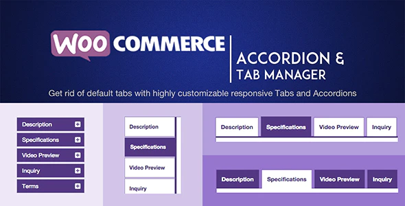 WOOATM WooCommerce Accordion and Tabs Manager Plugin
