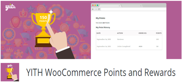yith woocommerce points and rewards plugin