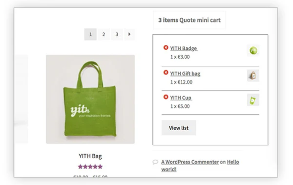 yith woocommerce request a quote wordpress plugin