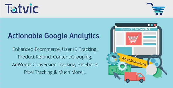 actionable google analytics for woocommerce plugin