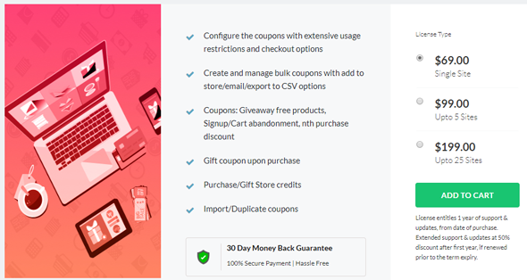 Smart Coupons for WooCommerce Plugin