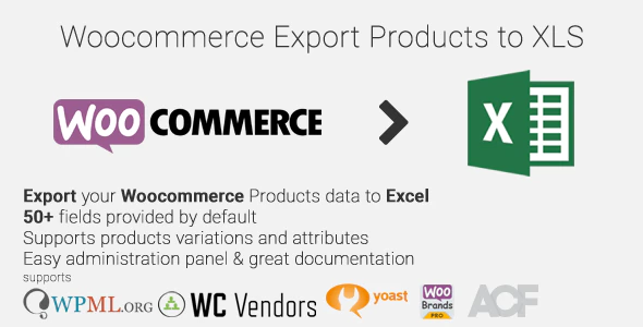 woocommerce export products to xls plugin