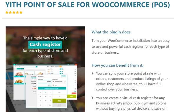 YITH Point of Sale for WooCommerce Plugin