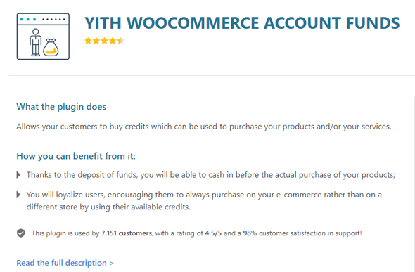 yith woocommerce account funds plugin