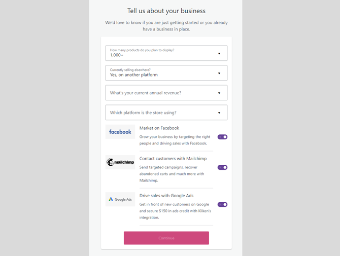 add about your business for woocommerce setup