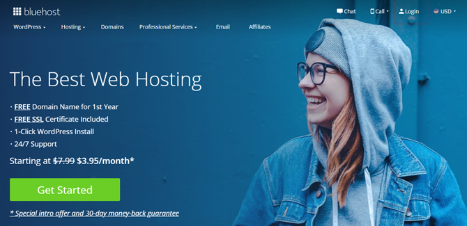 bluehost web hosting for small business