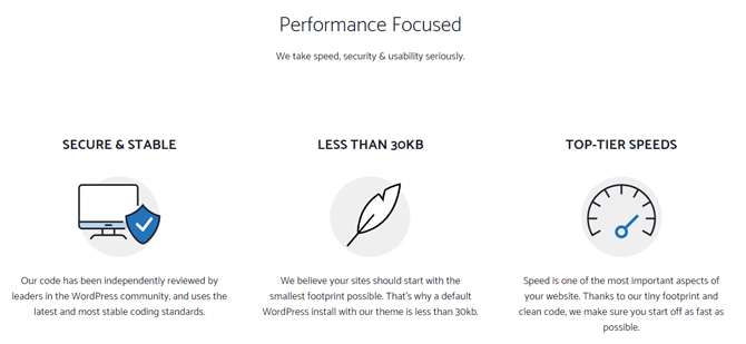 generatepress speed and performance