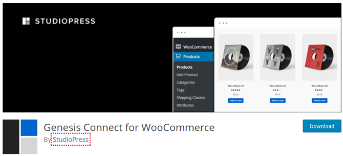 genesis connect for woocommerce plugin by studiopress