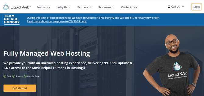 liquid web hosting provider