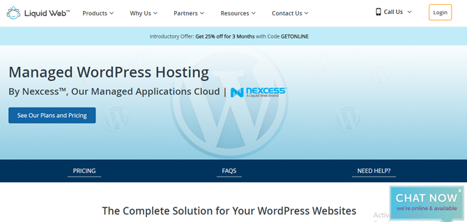liquid web managed wordpress hosting