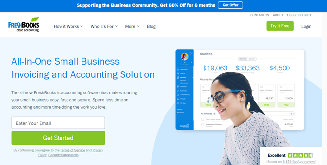 monetize wordpress blog with freshbooks