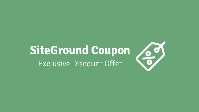 SiteGround Coupon 2021: Exclusive Discount Offer (Get Up to 65% Off)