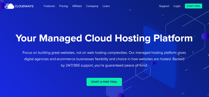 cloudways web hosting for travel blogs