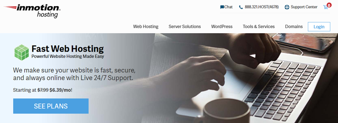 inmotion web hosting for beginners