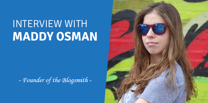 interview with maddy osman