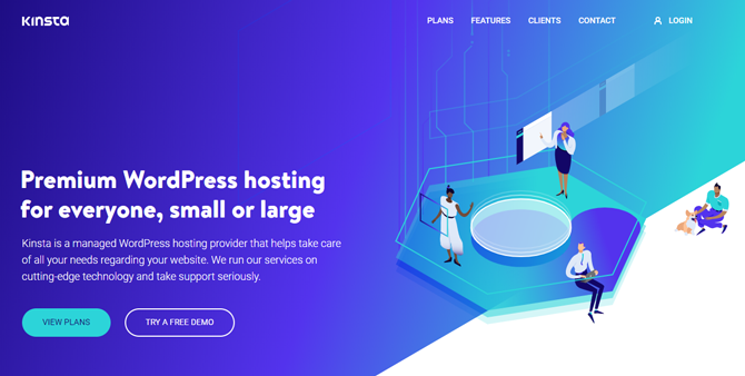 kinsta hosting for food blogs