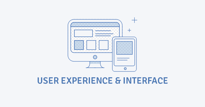 user experience and interface