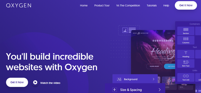 oxygen builder overview