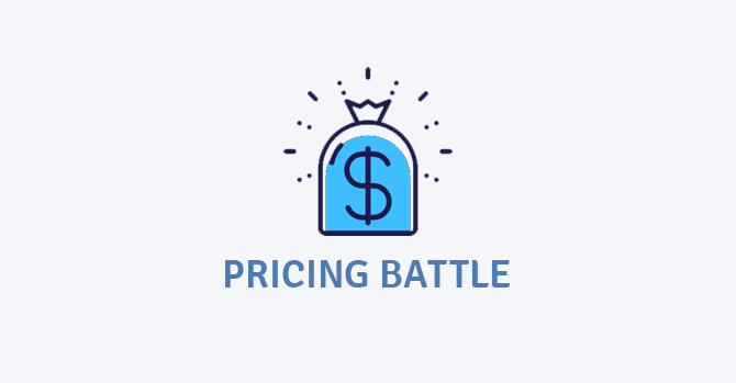 pricing battle