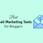 best email marketing tools for bloggers