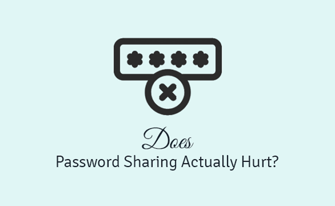 does password sharing actually hurt?