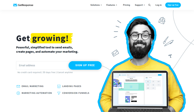 getresponse email marketing tool for bloggers