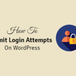 how to limit login attempts on wordpress
