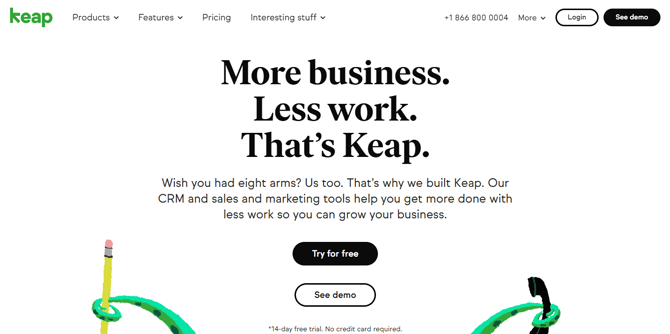keap email marketing tool for bloggers
