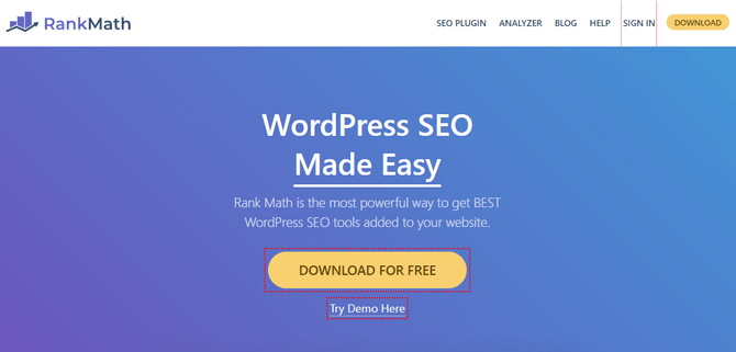 rankmath seo tool for bloggers