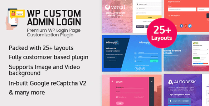 wp custom admin login wordpress plugin