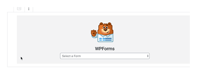 add the form