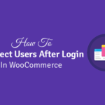 how to redirect users after login in wordpress