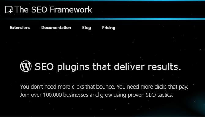 the seo framework wordpress seo plugin