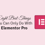 best things you can only do with elementor pro