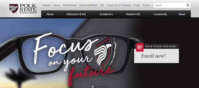 polk state college website